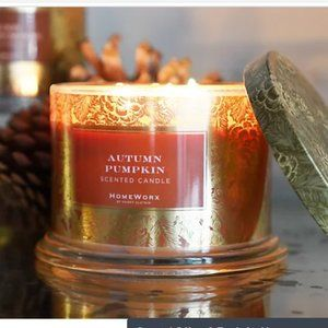 NEW Homeworx Autumn Pumpkin candle